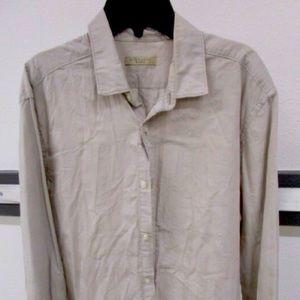 EUC Burberry Brit button down long sleeves shirt